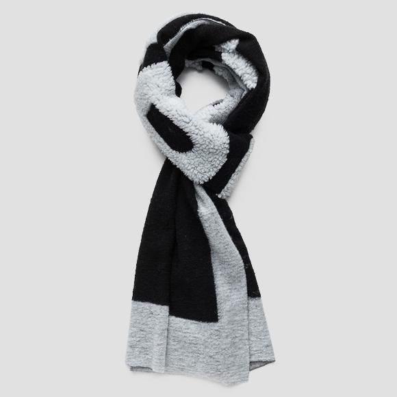 Scarf in wool blend - Replay AX9220_000_A0402_1214_1