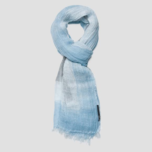 Degradé linen blend scarf - Replay AX9228_000_A0298A_1053_1