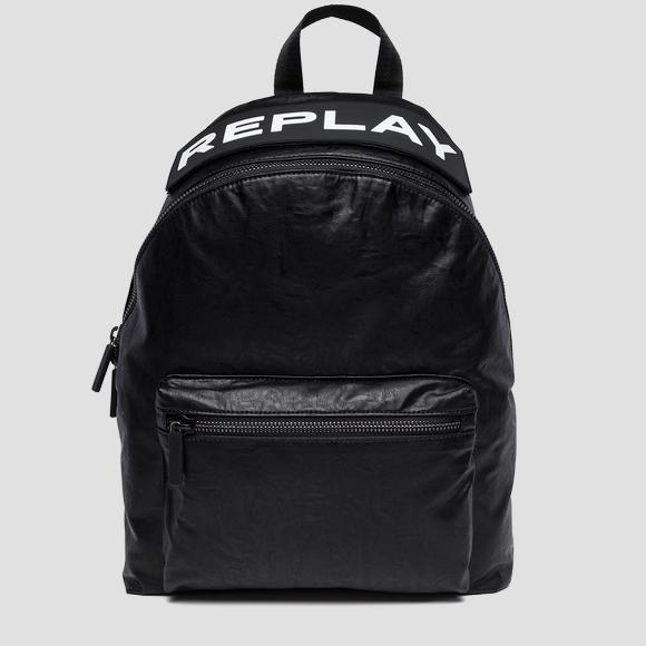 Backpack with maxi REPLAY writing - Replay FM3373_000_A0376_098_1
