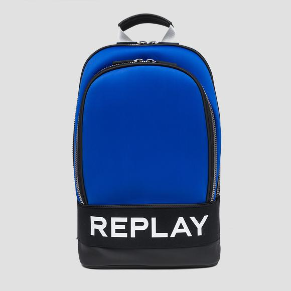 Neoprene backpack with REPLAY writing - Replay FM3375_000_A0281_517_1