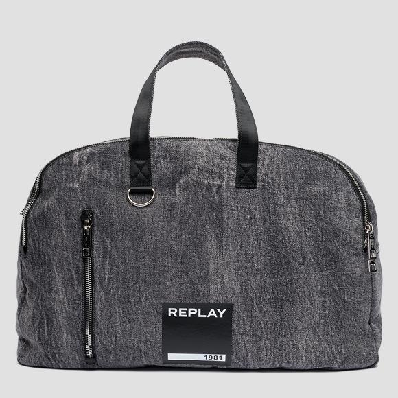 Marble denim handbag - Replay FM3381_000_A0013N_299_1