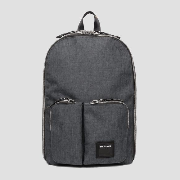 Double pocket backpack - Replay FM3402_000_A0343_299_1