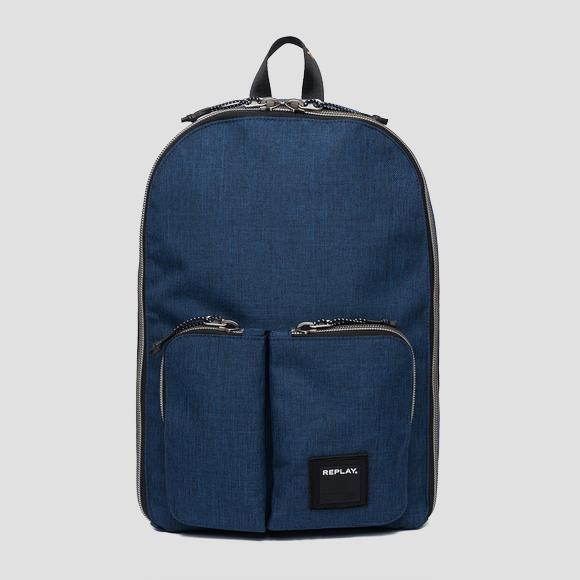 Double pocket backpack - Replay FM3402_000_A0343_499_1