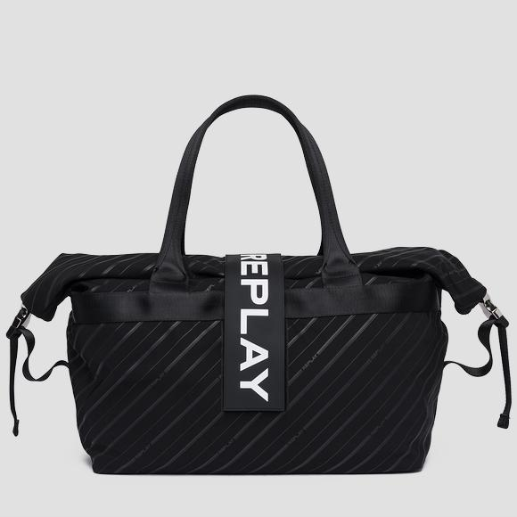 Printed nylon duffle bag - Replay FM3418_000_A0172A_098_1