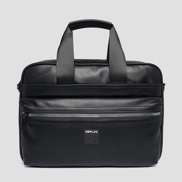 Laptop bag in eco-leather - Replay FM3437_000_A0015_098_1