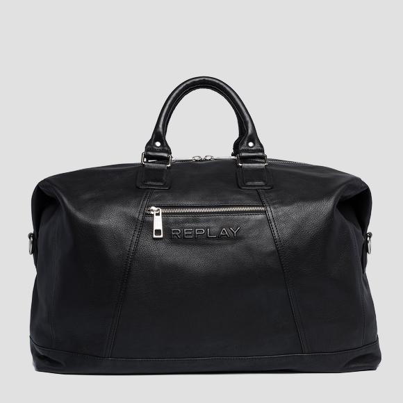 Soft leather duffle bag - Replay FM3452_000_A3029_098_1