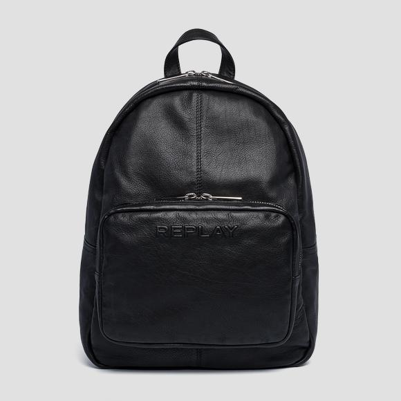 Soft leather backpack - Replay FM3453_000_A3029_098_1