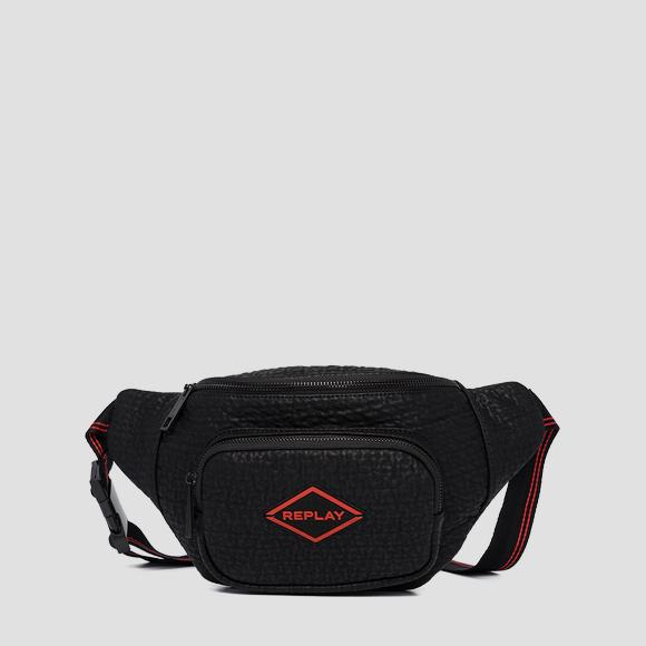 REPLAY waist bag with embossed effect - Replay FM3467_000_A0423_098_1