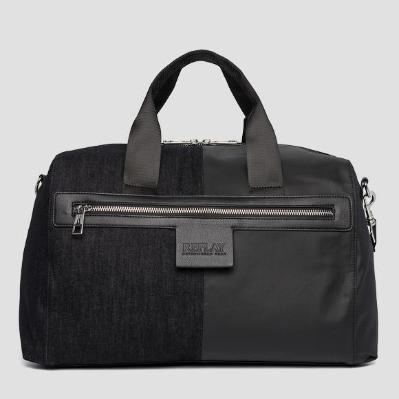Denim duffel bag REPLAY FM3477_000_A0013Q_1374_1