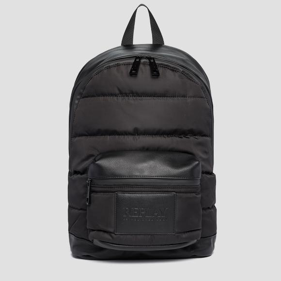 Quilted nylon backpack - Replay FM3478_000_A0341A_098_1