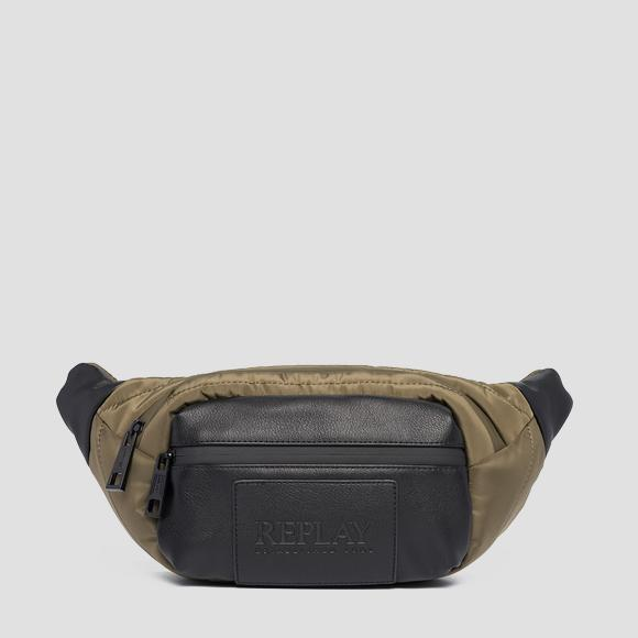 Quilted nylon waist bag - Replay FM3479_000_A0341A_432_1
