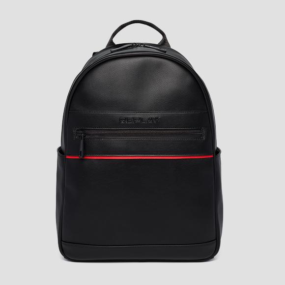 PU backpack with matt effect - Replay FM3485_000_A0015_098_1