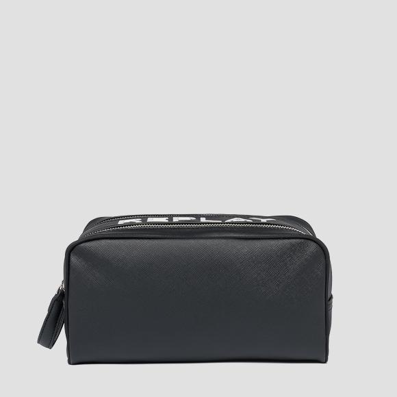 Zipped clutch with saffiano effect - Replay FM3490_000_A0283C_098_1