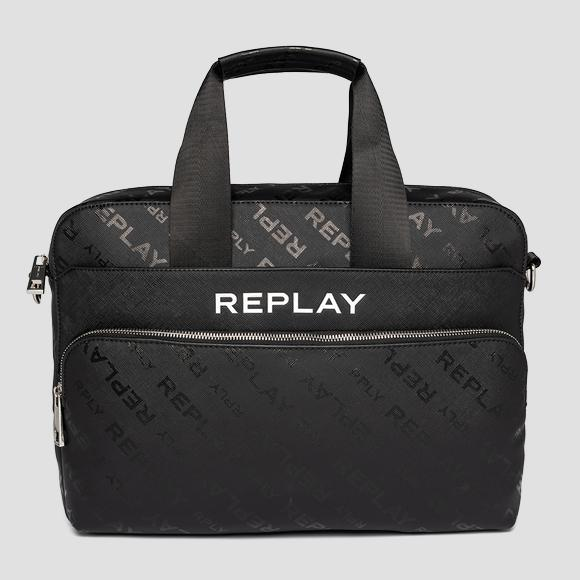 REPLAY handbag with saffiano effect - Replay FM3491_000_A0283D_098_1