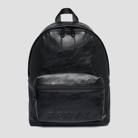REPLAY backpack with pocket - Replay FM3496_000_A0365A_098_1