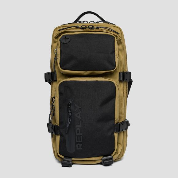 REPLAY backpack with double compartment - Replay FM3506_000_A0330A_1424_1