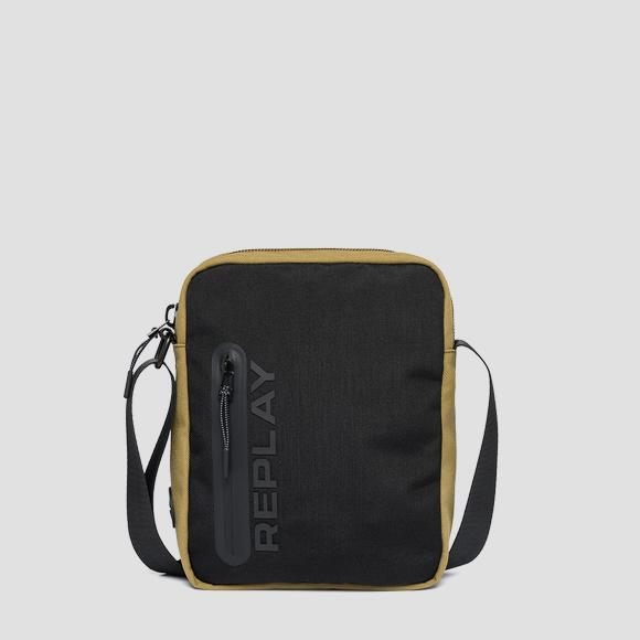 REPLAY canvas crossbody bag - Replay FM3507_000_A0330A_1424_1