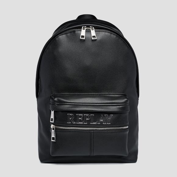 Solid-coloured REPLAY backpack - Replay FM3517_000_A0438_098_1