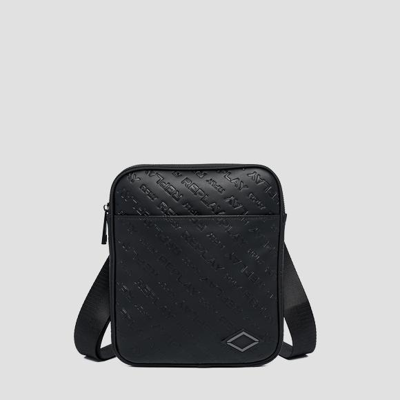 Crossbody bag with all-over REPLAY writing - Replay FM3530_000_A0157C_098_1