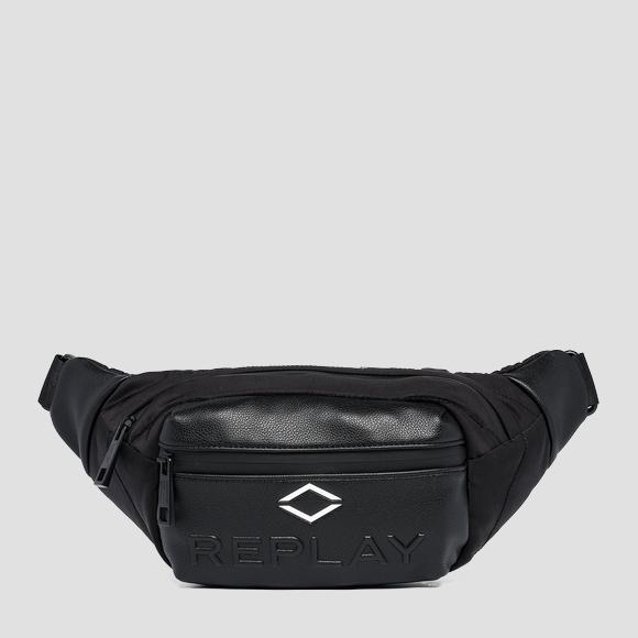 REPLAY nylon waist bag with crinkle effect - Replay FM3533_000_A0229A_098_1
