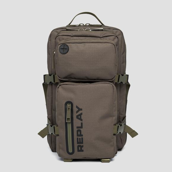 REPLAY zip-around backpack with buckles - Replay FM3539_000_A0440_057_1