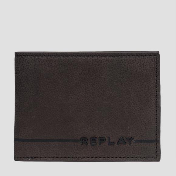 Leather wallet with zipper - Replay FM5164_000_A3052C_115_1