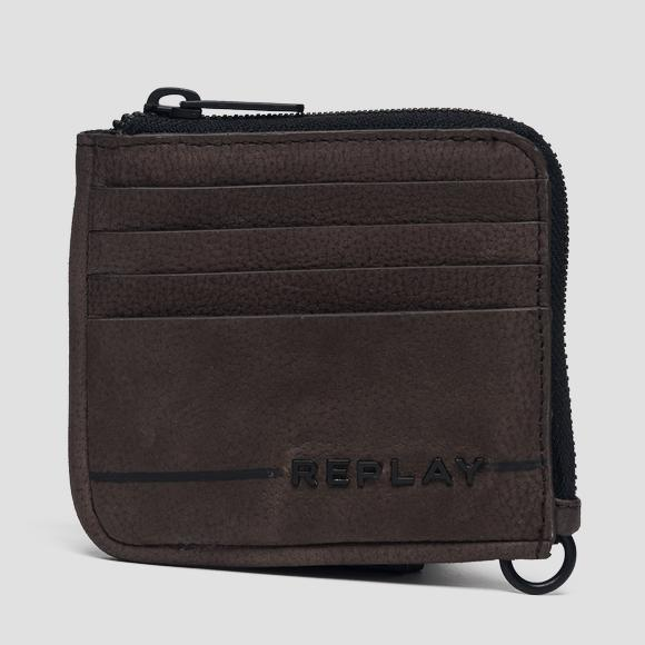 Leather coin wallet - Replay FM5166_000_A3052C_115_1