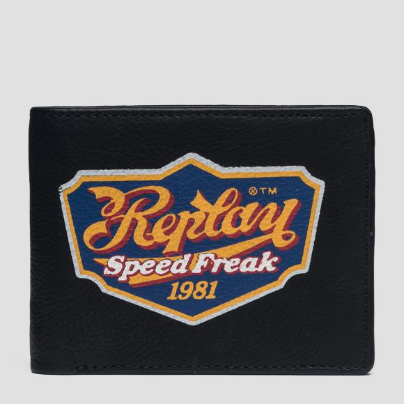 Vintage print wallet - Replay FM5173_000_A3127_098_1
