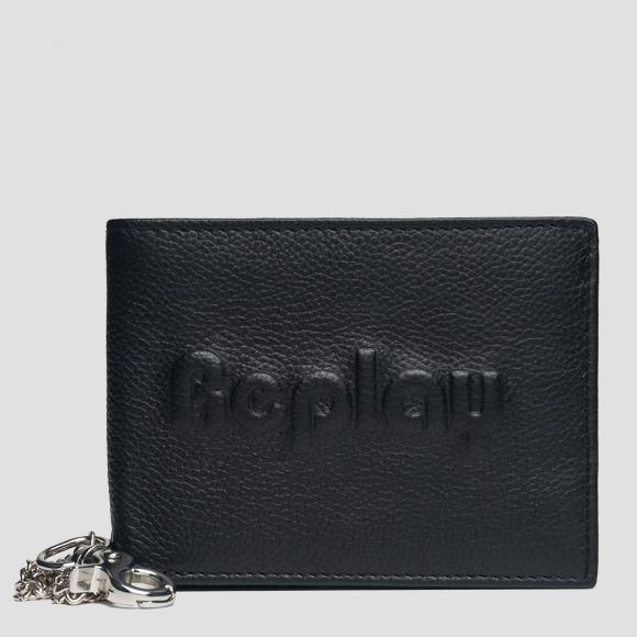 Wallet in hammered leather - Replay FM5175_000_A3078A_098_1