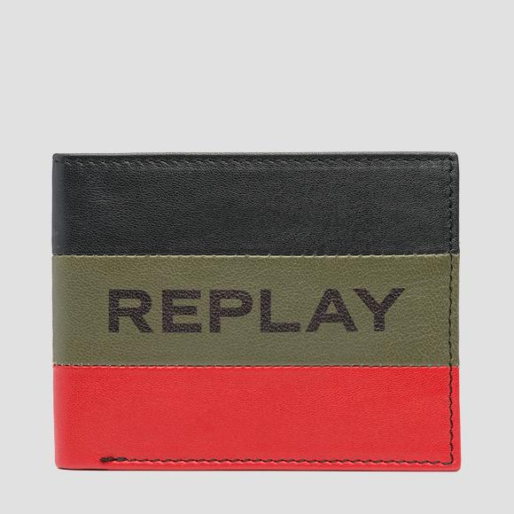 Striped REPLAY wallet - Replay FM5197_000_A3063_1378_1
