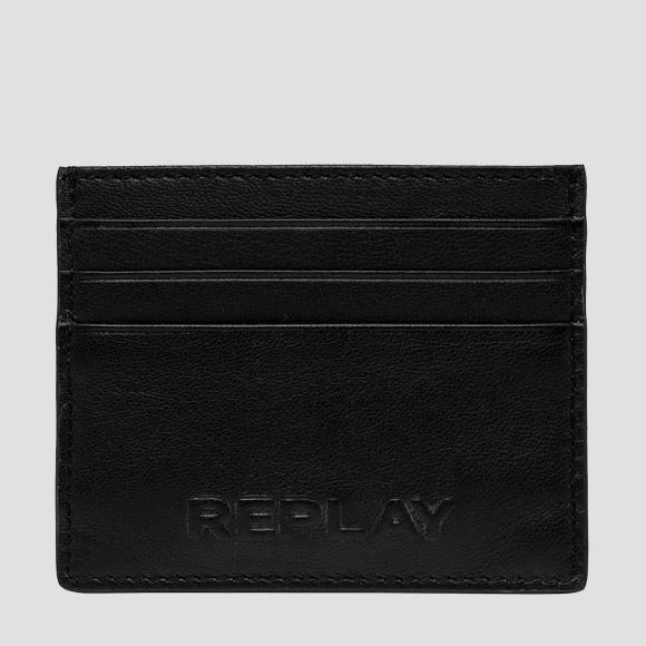 REPLAY leather cardholder - Replay FM5234_000_A3063_098_1