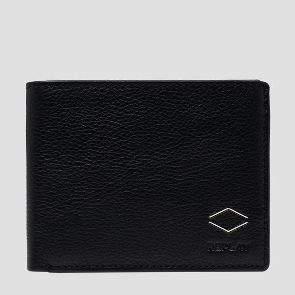 REPLAY hammered leather wallet - Replay FM5236_000_A3063B_098_1