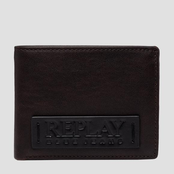 REPLAY BLUE JEANS hammered leather wallet - Replay FM5250_000_A3191_128_1