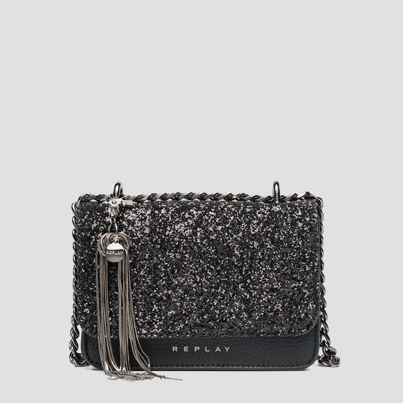 Glitter crossbody bag REPLAY - Replay FW3001_004_A0327_098_1