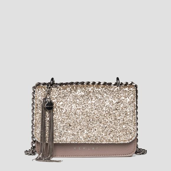 Glitter crossbody bag REPLAY - Replay FW3001_004_A0327_109_1