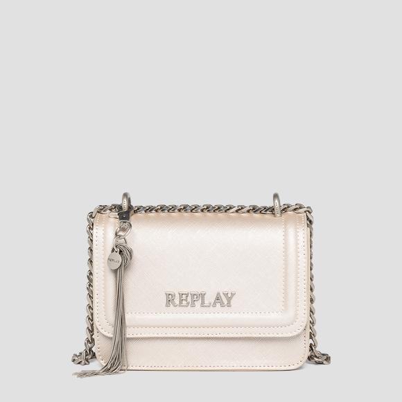 REPLAY crossbody bag with saffiano effect - Replay FW3001_015_A0283_187_1