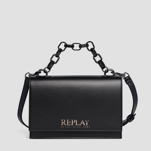 Matt smooth leather handbag - Replay FW3045_000_A0418_098_1