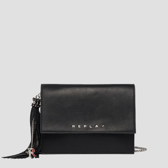 Crossbody bag in plain cow leather - Replay FW3060_000_A3127C_098_1