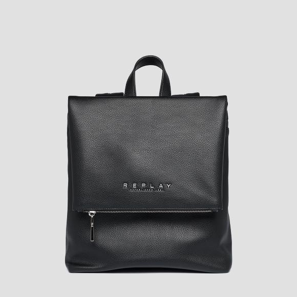 REPLAY soft backpack with flap - Replay FW3083_000_A0363C_298_1