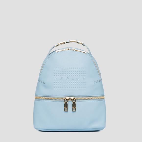 REPLAY zipped backpack - Replay FW3085_000_A0420_474_1