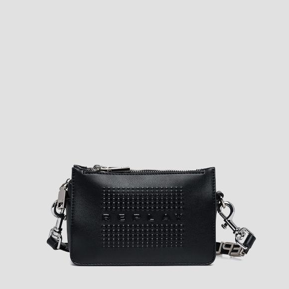 Crossbody bag with double zipper - Replay FW3086_000_A0420_098_1