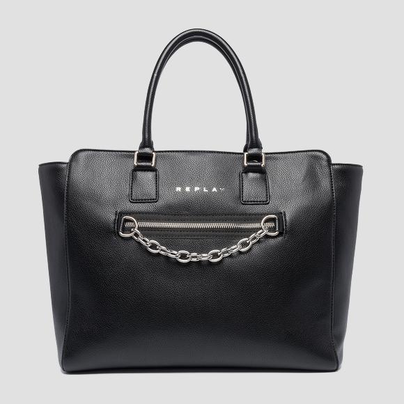 REPLAY shopper with shoulder strap - Replay FW3094_000_A0363C_298_1