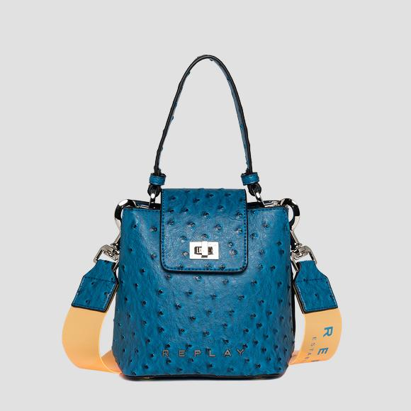 Handbag with ostrich effect - Replay FW3099_000_A0424_461_1