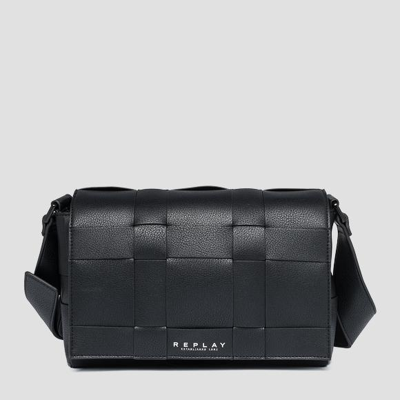 Reversible bag with flap - Replay FW3106_000_A0355B_098_1