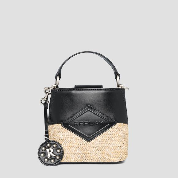 REPLAY handbag in raffia - Replay FW3111_000_A0295_1417_1