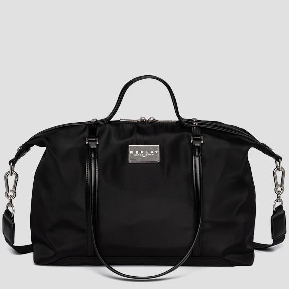 REPLAY duffle bag in nylon with shoulder strap - Replay FW3116_000_A0435_098_1
