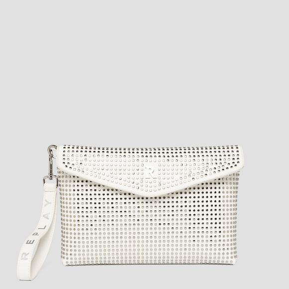 REPLAY flat purse with studs - Replay FW3131_000_A0132D_001_1