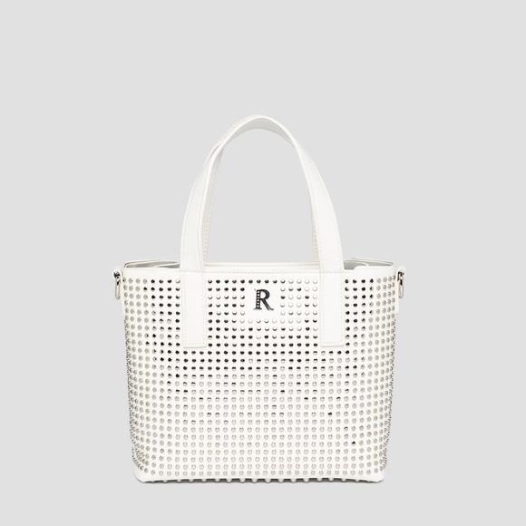 Nietenbesetzte REPLAY-Shoppertasche - Replay FW3133_000_A0132D_001_1