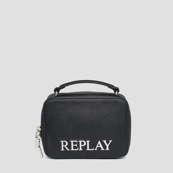 REPLAY rigid bag with saffiano effect - Replay FW3140_000_A0283_098_1