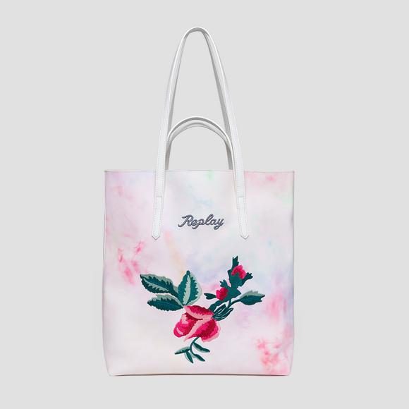 ROSE LABEL shopper with double handle - Replay FW3141_000_A0420_001_1